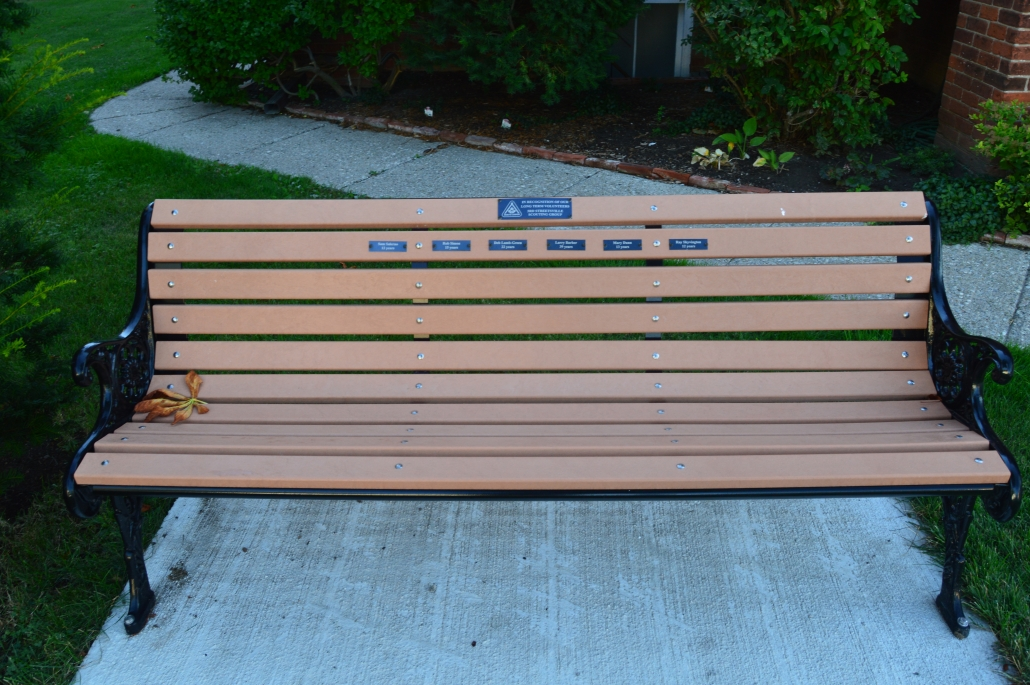 Streestville Scouts Bench